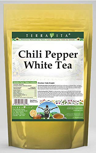 Chili Pepper White Tea (50 Tea Bags, ZIN: 545265) - 2 Pack