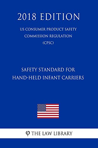 Safety Standard for Hand-Held Infant Carriers (US Consumer Product Safety Commission Regulation) (CPSC) (2018 Edition) (English Edition)