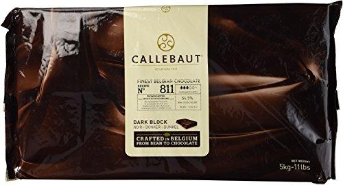 Callebaut Chocolate Block Semisweet 54.5% cocoa 5 kilo / 11 lbs