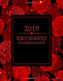 2019 Weekly And Monthly Planner Calendar