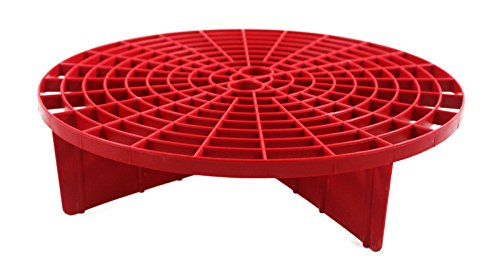 The Grit Guard Insert (Red) - Fits 12 inch Diameter Bucket ()