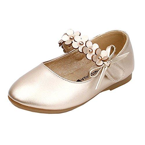 Lisianthus002 Kleinkind Little Madchen Flache Schuhe Kinder Blumen