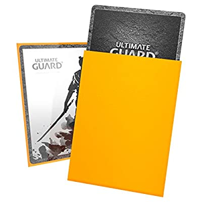 Ultimate Guard Katana Sleeves Standard Size Yellow (100): Toys & Games