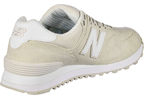 Ny Balanse Kvinners 574v2 Sneaker Moonbeam / Hvit