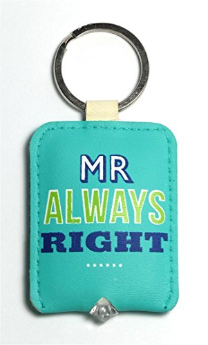 Mr Always Right - Keylight - Keyring with Built-in LED Torch - Gift Idea