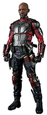 """Bandai Tamashii Nations S.H. Figuarts Deadshot """"Suicide Squad"""" Action Figure from BLVAO"""