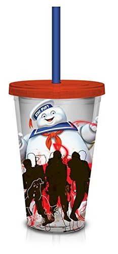 Ghost Buster Red Carnival Cup with Red Lid