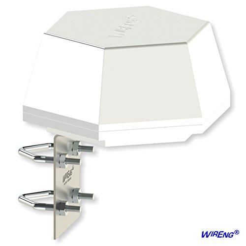 DefiAnt2-MIMOTM Antenna for Cisco HWIC-AP 802.11 RV/Vehicle/Truck/Van/Boat/Transit True MIMO Omni ±45° Dual - Industrial Grade