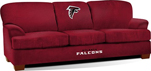 Imperial Officially Licensed NFL Furniture: First Team Microfiber  Sofa/Couch, Atlanta Falcons