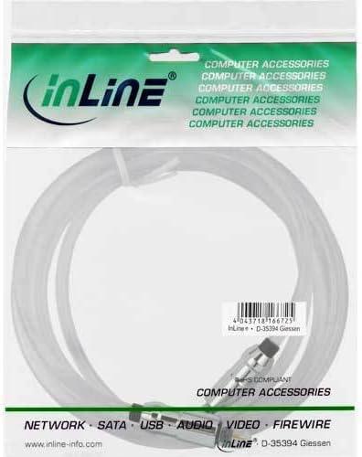 Inline 89923t 3 M Toslink Toslink Transparent Computer Zubehör