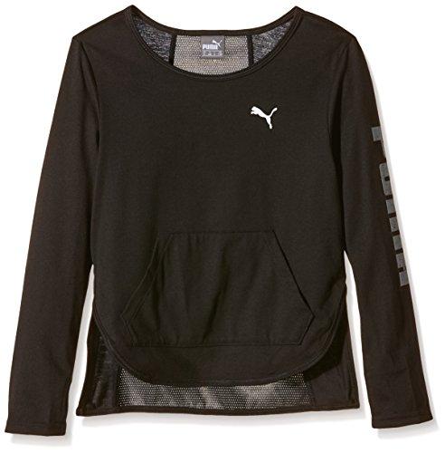 PUMA Kinder T-Shirt Active Dance Cover Up G, Black, 152, 836669 01