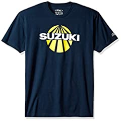 Suzuki premium t-shirt features screen printed graphics on the chest and sleeve