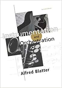 Alfred blatter instrumentation and orchestration
