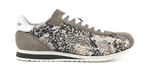 CAFE' NOIR SNEAKERS RUNNING DONNA PAILLETES P/E 2017 DH901