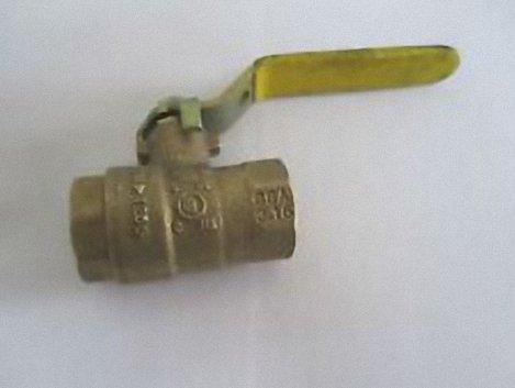 Watts Regulator Co. 0547102 1/2T 600 BRS BALL VLV FULL PORT