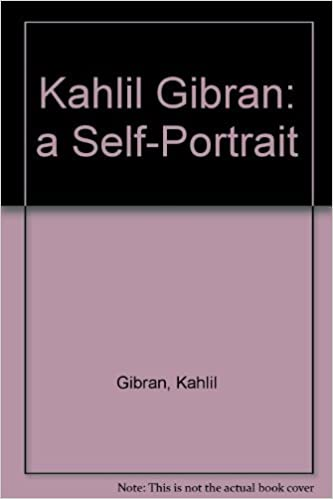 Book Kahlil Gibran: a Self-Portrait by Kahlil Gibran (1988-10-01)