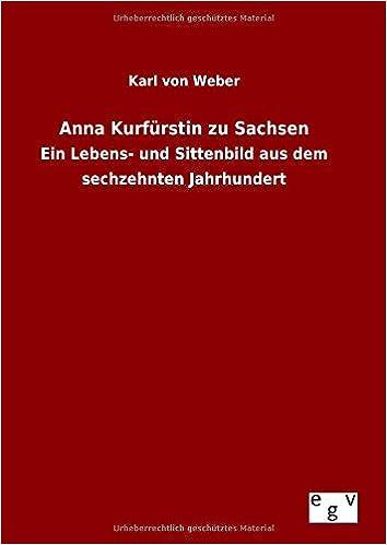 Book Anna Kurfürstin zu Sachsen
