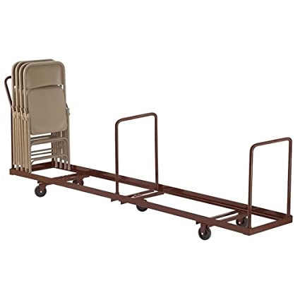 38.5u0026quot; X 19.25u0026quot; X 81u0026quot; Folding Chair Dolly Capacity: 50 Chairs