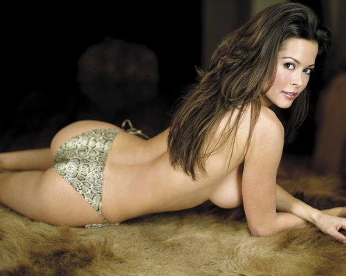 BROOKE BURKE Topless Bikini Butt View 186 8x10 PHOTO