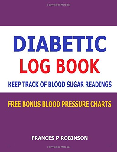 Diabetic Log Book Keep Track Of Blood Sugar Readings In This