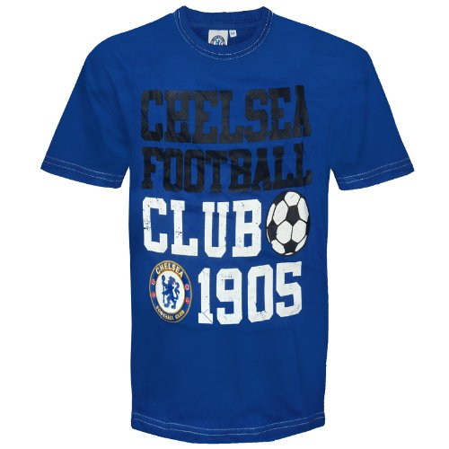 Chelsea Graphic T-shirt (Chelsea Football Club Official Soccer Gift Infants Graphic T-Shirt 3-4 Years)