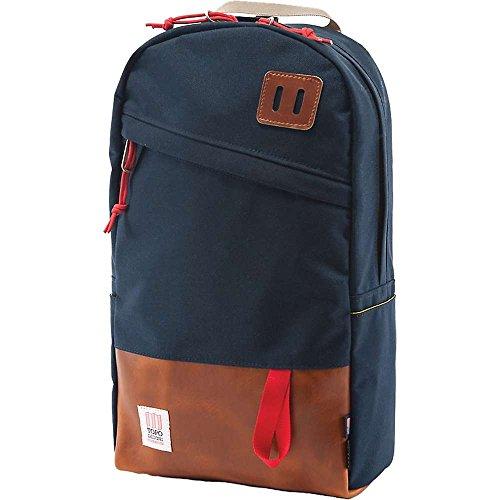 Topo Designs, zainetto Navy Brown Leather