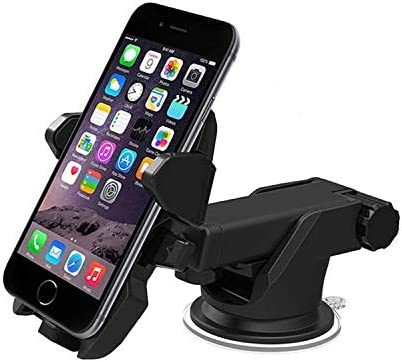 Portable 1x Car GPS Phone Holder Suction Cup Cell Phone Retractable Mount Stand