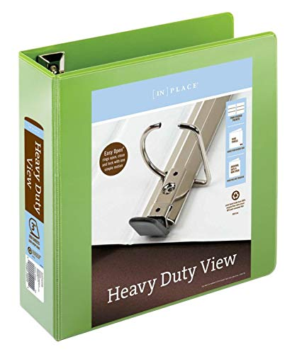 Office Depot Brand Heavy-Duty Easy Open D-Ring View Binder, 3