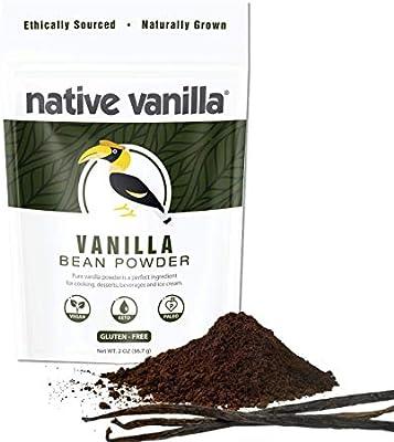 Vanilla Powder Unsweetened Pure Ground Raw Vanilla Beans For Coffee Baking Ice Cream 57g Amazon Sg Grocery Gourmet Food