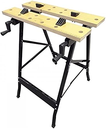 CABALLETE DE TRABAJO PLEGABLE/MESA DE TRABAJO PLEGABLE: Amazon.es ...