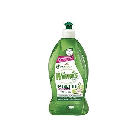 Winni s Limón concentrado líquido lavavajillas Detergente para ...