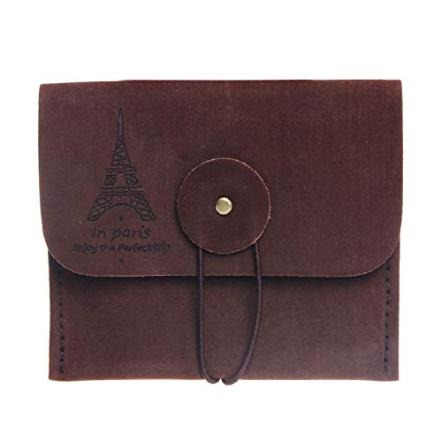HankuNew Retro Paris Tower Memory Coin Purse Holder (C) ()