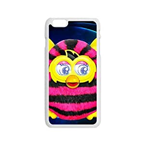 Lovely pink and yellow owl Cell Phone Case for Iphone 6