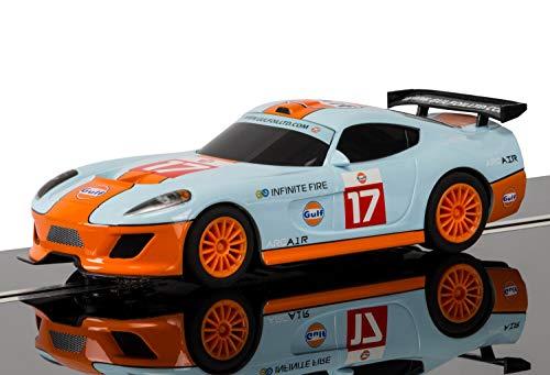 Scalextric C3840 Team GT Lightning - Team GT Gulf Slot Car ()