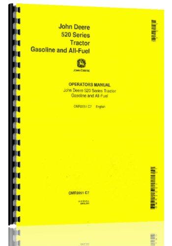 Price comparison product image John Deere 520 Tractor Operators Manual