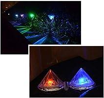 Luces LED Focos Solares Para Jardín, Luces de Estaca de Diamantes Para Exteriores, Iluminación de Paisaje, 7 Colores Cambiantes Para Caminar, Patio, Jardín, Entrada, Decoración de Patio (8 Unidades): Amazon.es: Iluminación