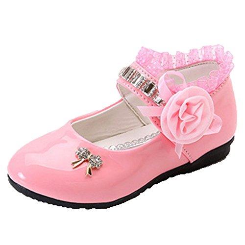 OPSUN ,  Mädchen Plateau-Absatz Pink