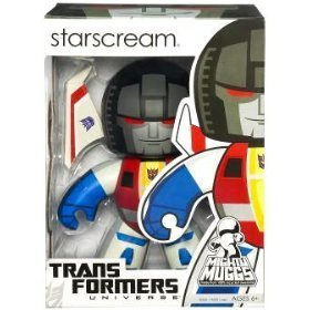 Transformers Universe Mighty Muggs Series 2 Vinyl Figure Starscream