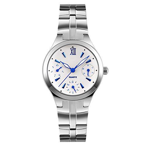 Women Watches Women's Stainless Steel 30M Waterproof Quartz Watch Ladies Wrist Watch Relogio Feminino Montre ()