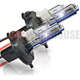 HID-Warehouse HID Xenon Replacement Bulbs - H4 / 9003 4300K - Bright Daylight (1 Pair) - 2 Year Warranty