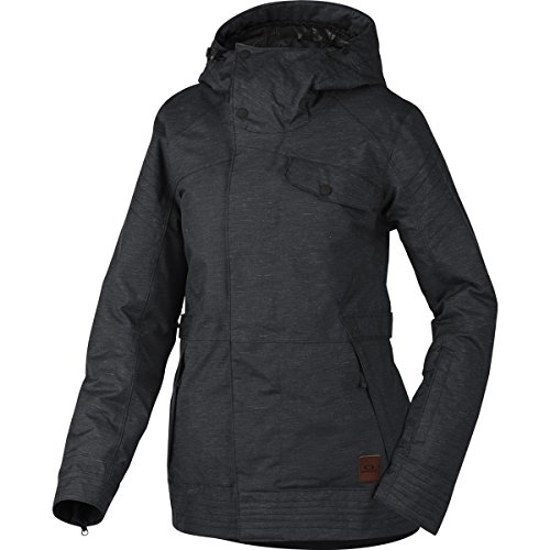 Oakley Women's Showcase BZI Jacket, Small, Jet Black