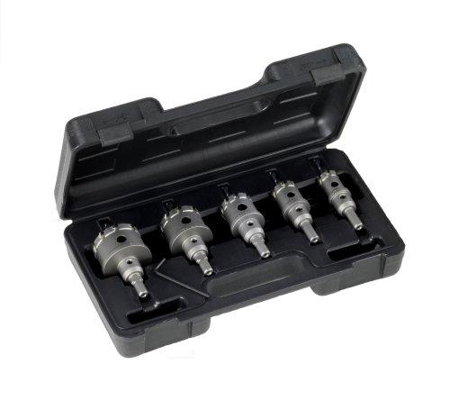 Tip Cutter Hole Carbide - Champion CT7P-SET-6 Carbide Tipped Hole Cutter Electrical Conduit Set, 5-Piece