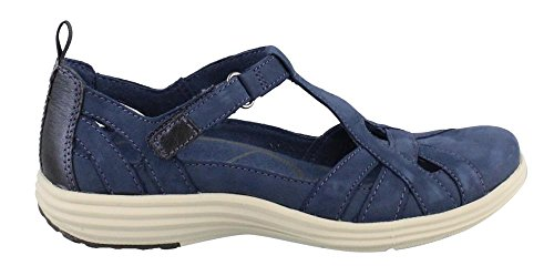 Aravon Women's Beaumont Fisherman Sandal, Blue/Multi, 10 B US