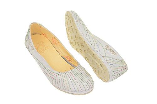 Offwhite Ballerine Eject 17114 Bianco Donna q8nax5