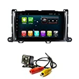 Car GPS Radio Android 7.1 Navi for Toyota Sienna 2011-2013 Car Multimedia Player Navigation Stereo Head Unit Nav WiFi Bluetooth (1+16G Andorid 7.1 for Toyota Sienna)