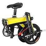 ZHJIUXING-HO-Monopattino-Elettricoper-Adulti-Adulto-Bambini-Pieghevole-Mini-Scooter-Electrico-velocit-Massima-25kmh-luci-Posteriori-per-Freni-a-Bassa-densit-C