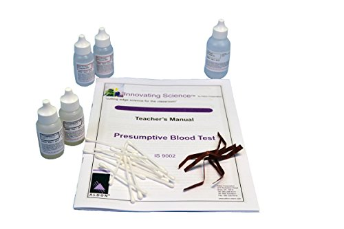(Forensic Chemistry: Presumptive Blood Test Kit - Materials for 30 Tests )