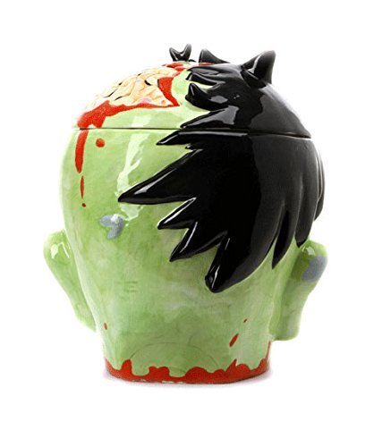 Zombie Head Cookie Jar