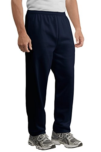 Port & Company Men's Fleece Sweatpants with Pockets – Midweight PolyCotton – ()