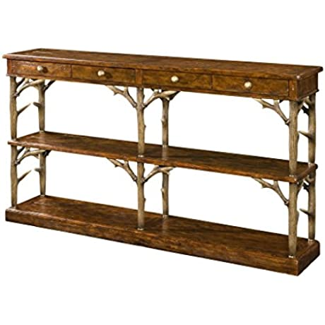 Victorian Faux Antler Console Table